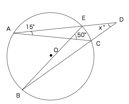 円周角の定理 練習問題②
