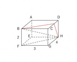 三平方の定理 立体