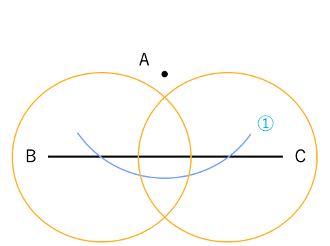 垂直な線を作図1−3