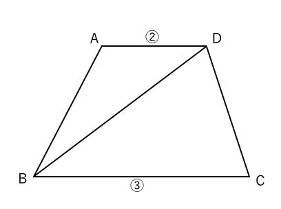 面積比 台形1