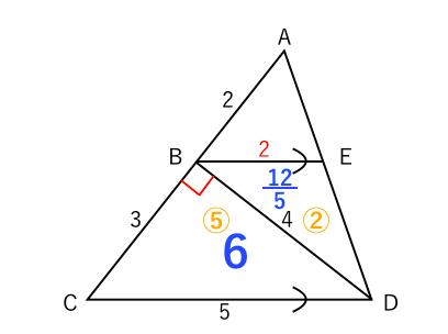 入試問題 面積6