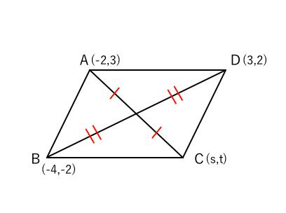 平行四辺形 中点2