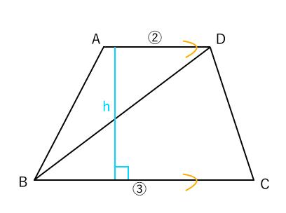 面積比 台形3
