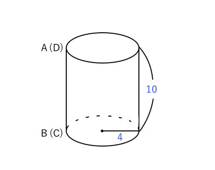 円柱の見取り図