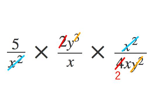 単項式の除法3