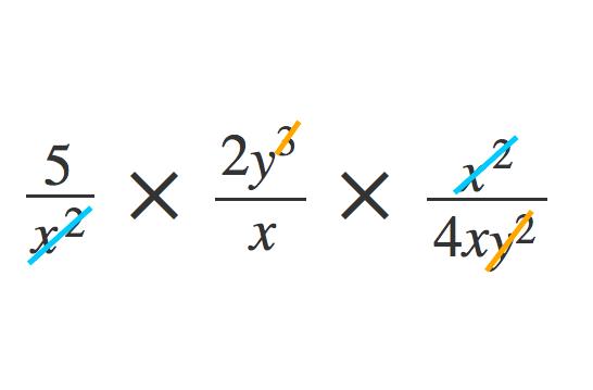 単項式の除法2