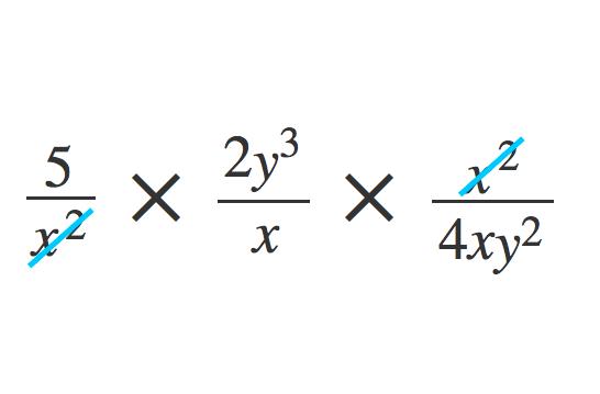 単項式の除法1