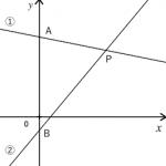 一次関数 ~グラフを使った問題~