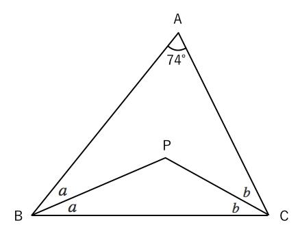 三角形,二等分,角度