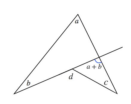 三角形,外角の定理