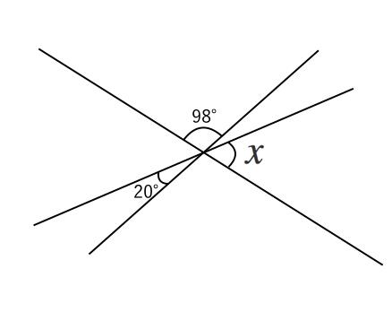 対頂角,問題