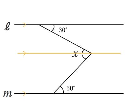 同位角,補助線
