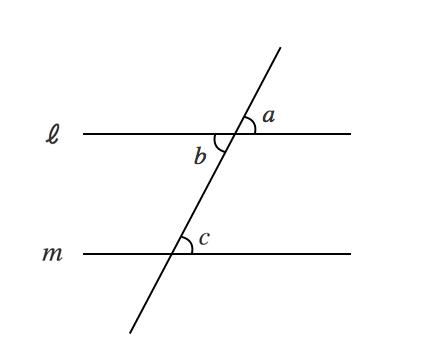 対頂角,同位角,錯角
