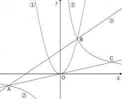 放物線,直線,問題