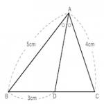 相似な図形 ~角の二等分線があったらこれ!~