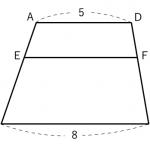 相似な図形 ~計算(台形)練習問題~