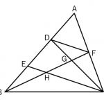 相似な図形 ~平行線と線分の比(よく出る系)~