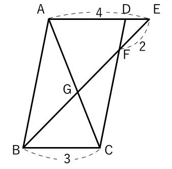 相似,比,平行四辺形