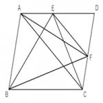 面積が等しい三角形②