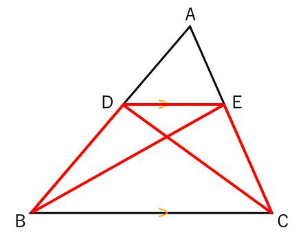 三角形,面積,等しい