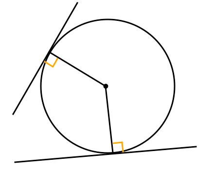 接線,垂直