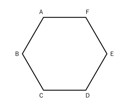 確率,三角形,六角形