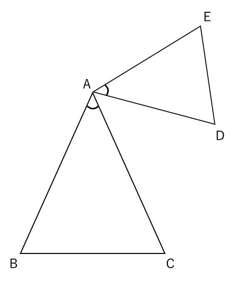 二等辺三角形,合同,問題