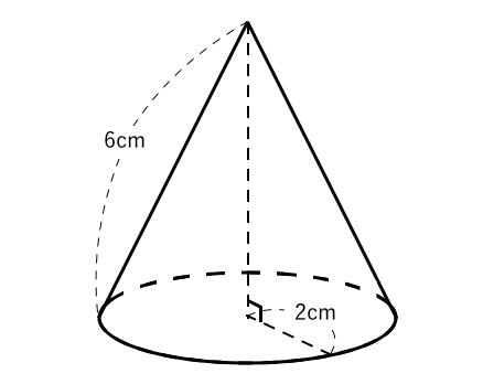 円錐,表面積,体積