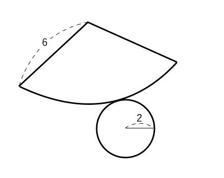 円錐,展開図