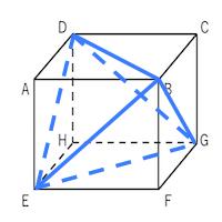 立方体,正四面体,切る