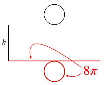 円柱,展開図,表面積