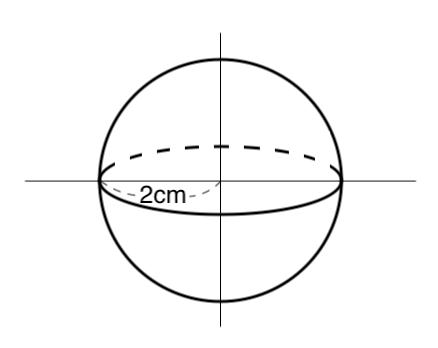 球,体積,表面積