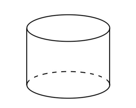 円柱,側面積